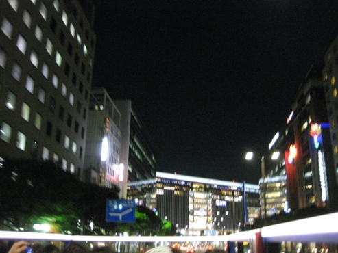 福岡オープントップバス「福岡きらめき夜景コース」3