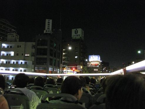 福岡オープントップバス「福岡きらめき夜景コース」17