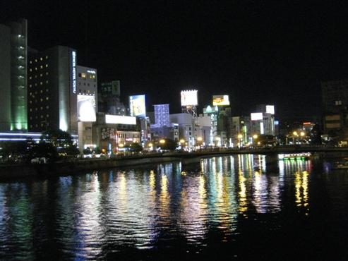 福岡(中州 川端)那珂川・福博であい橋
