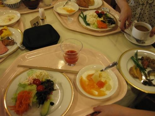 博多都ホテル 朝食バイキング