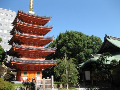 福岡 博多「東長寺/五重塔」