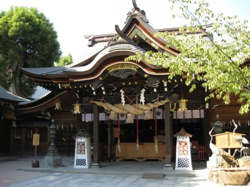 福岡 博多「櫛田神社/社殿」