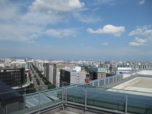 JR博多シティ「つばめの杜ひろば/展望広場」