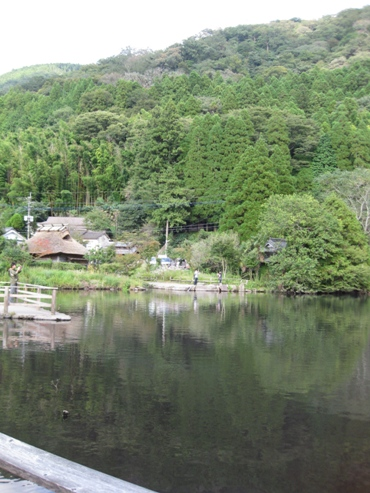 湯布院観光 金鱗湖