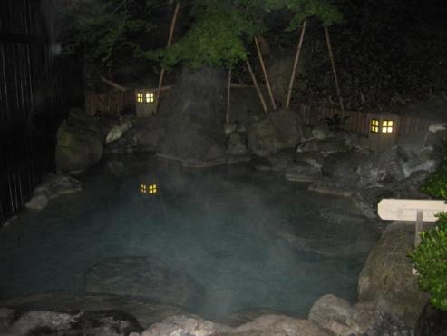 湯布院温泉 ゆふいん泰葉 大浴場 露天風呂 9