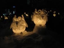 小樽'13雪あかりの路/手宮線会場