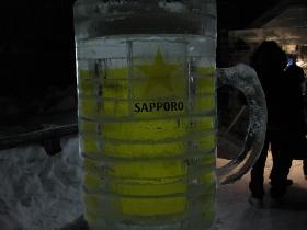 小樽'13雪あかりの路/手宮線会場 アイスバー