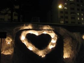 小樽'13雪あかりの路/運河会場