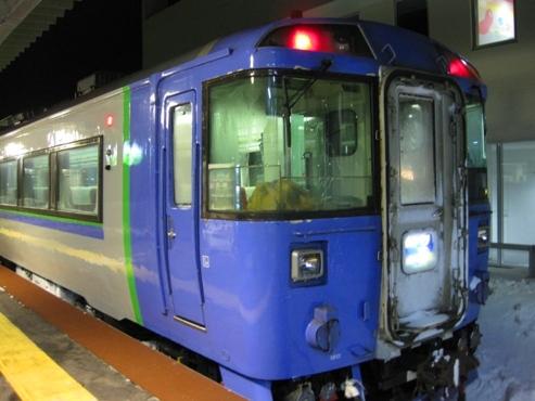 10発掘「てっぺん 宗谷探検隊」JR日本最北端の駅に到着した特急サロベツ