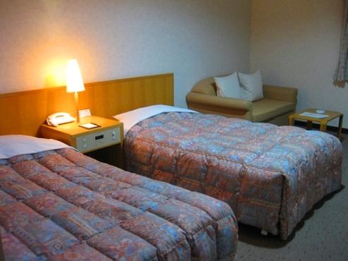 15稚内 ホテルおかべ汐彩亭 2客室ツインルーム