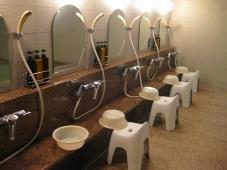 32稚内 ホテルおかべ汐彩亭 浴場 洗い場
