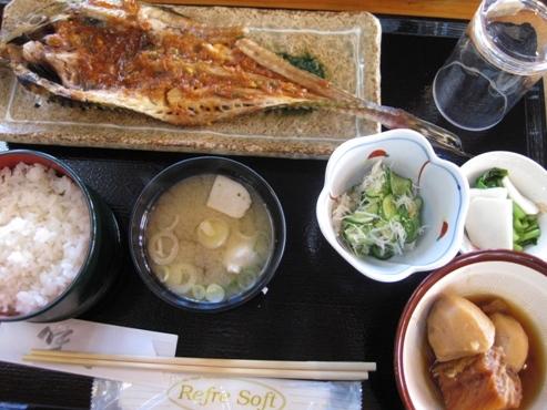 86発掘「てっぺん 宗谷探検隊」うろこ亭【昼食】八角定食