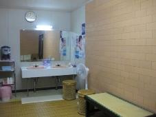 155豊富温泉 ニュー温泉閣ホテル 浴場 脱衣室