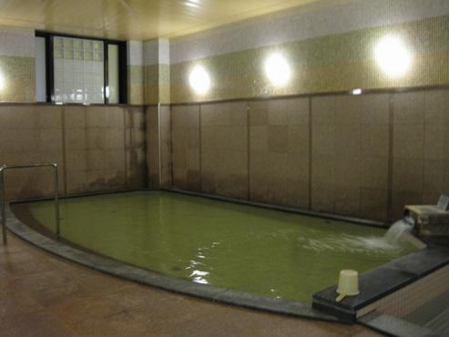 稚内温泉 稚内グランドホテル 浴場 浴漕