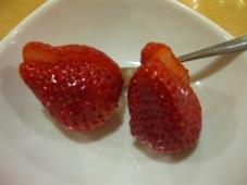 稚内温泉 稚内グランドホテル 夕食 フルーツ