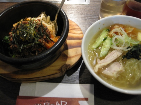 焼き肉と料理 シルクロード/ミニ冷麺セット 830円