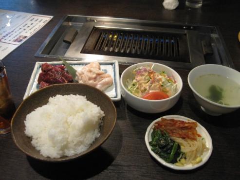 焼き肉と料理 シルクロード/シルクロードセット 800円