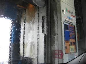 士幌のホクレンGSで洗車