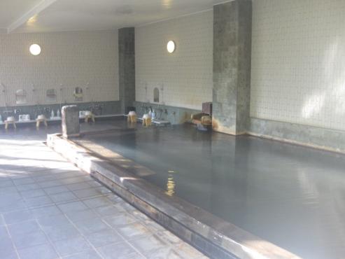 上の湯温泉『温泉旅館銀婚湯』浴場 こもれび湯
