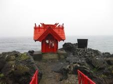 利尻島 北のいつくしま弁天宮