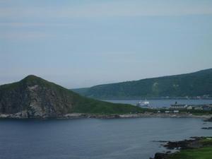 夕日ヶ丘展望台からの眺め