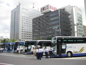札幌駅/勝毎花火大会ツアーバス