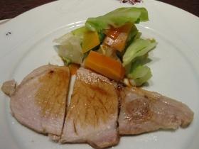 養老牛温泉「湯宿だいいち」/夕食 煮物:小メンメの煮付