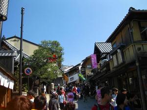 清水寺の清水坂