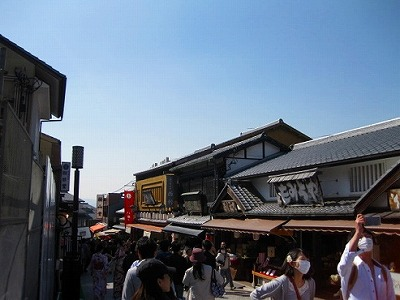 京都 清水寺周辺 清水通り