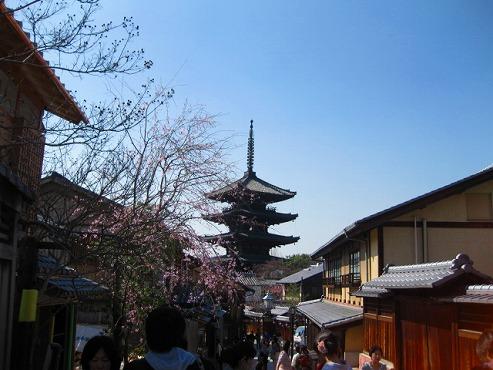京都 清水寺周辺 八坂の塔