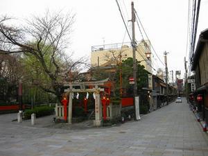 京都 祇園 辰巳大明神