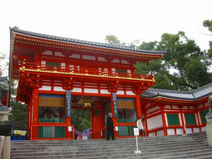 京都 八坂神社(西楼門)