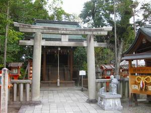 京都 八坂神社(大国主社)