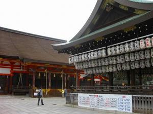 京都 八坂神社(舞殿)