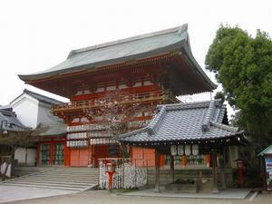 京都 八坂神社(南楼門)
