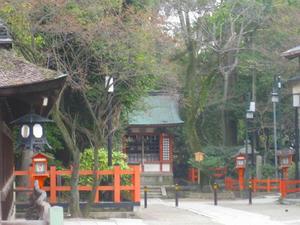 京都 八坂神社(日吉社)
