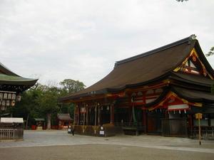 京都 八坂神社(本殿)
