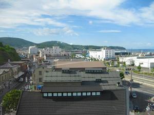 小樽 堺町通 ルタオ本店 展望台からの眺め