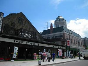 小樽堺町通 北一硝子 アウトレット