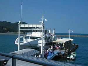 四国旅行/鳴門 大型観潮船わんだーなると