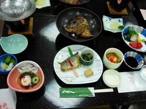 四国旅行/道後温泉『道後グランドホテル』夕食