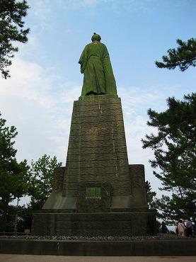 四国旅行/桂浜 坂本龍馬銅像