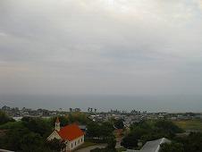 四国旅行/高知よさこい温泉『土佐ロイヤルホテル』客室の窓からの眺め