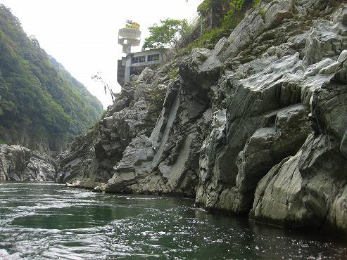 四国旅行/大歩危峡