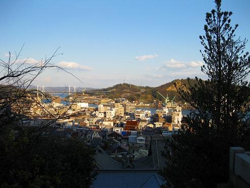 広島観光/広島県尾道/天寧寺 三重塔から見た風景