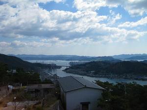 広島観光/広島県尾道/千光寺公園 頂上展望台かなの眺め