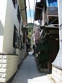 広島観光/広島県尾道/狭い路地
