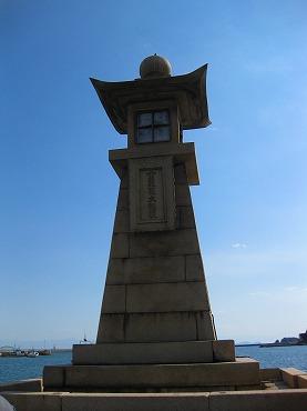 広島観光/広島県 鞆の浦/常夜燈