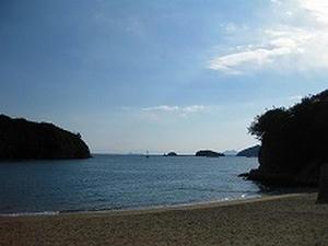 広島観光/広島県 鞆の浦/仙酔島 ビーチ