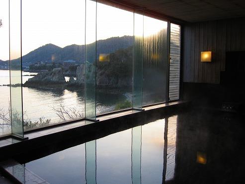 広島県 鞆の浦/仙酔島 江戸風呂体験!展望風呂 浴槽